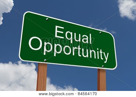 Equal Opportunity Sign