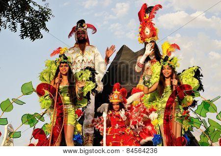 Royal Family In Carnival