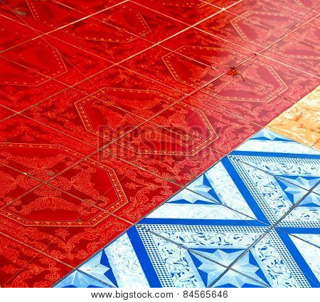 Asia In  Thailand Kho Samui  Abstract Cross Texture
