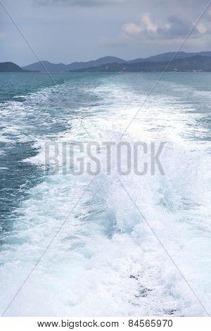 Kho Samui Bay Isle Froth Foam