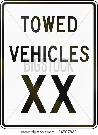 Towed Vehicles Xx
