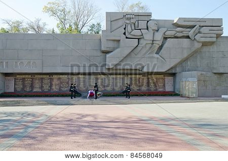Memorial To The Heroic Defense Of Sevastopol 1941-1942