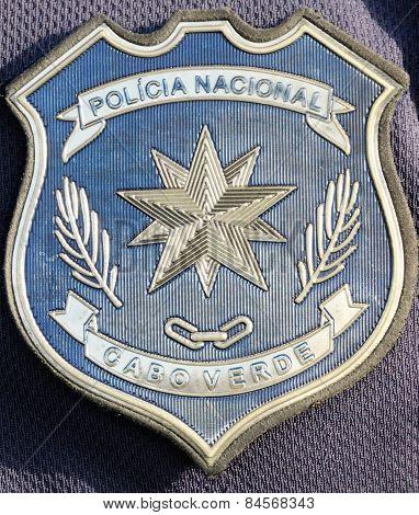 Badge of Policia Nacional De Cabo Verde