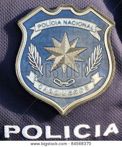 Emblem Of Policia Nacional De Cabo Verde