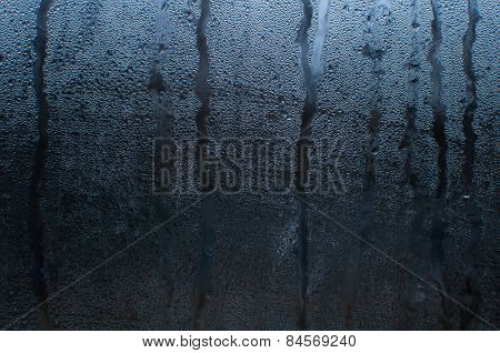 Misted glass background