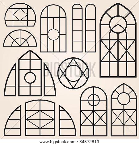 Window Frames Set