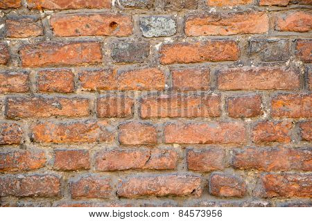 Old brick wall background - Stock Image