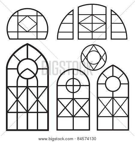 Window Frames Set3