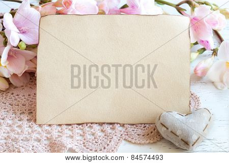 Shabby Spring Background