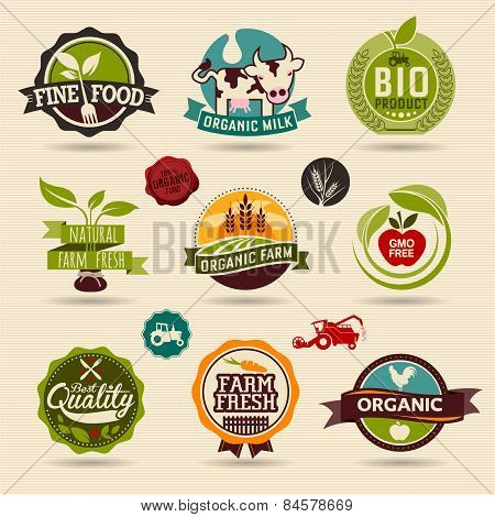 Ecology and Organic Web Icon Set