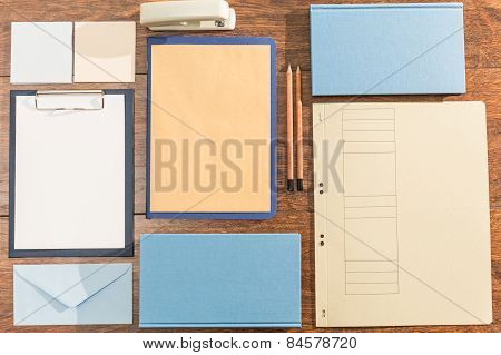 Office Desk Mock Up Template