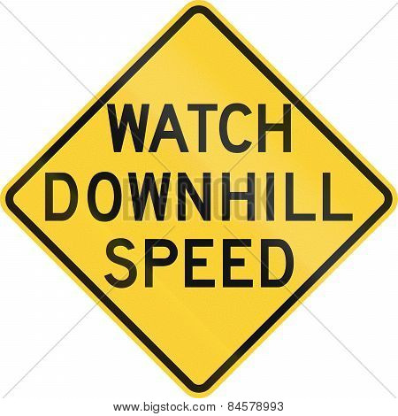 Watch Downhill Speed