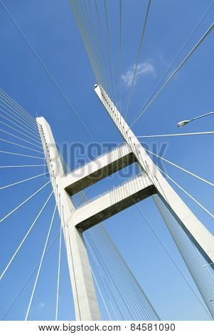 Part Of Cable-stayed Bridge