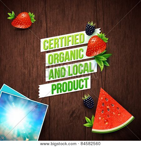 Certified Local Organic Products