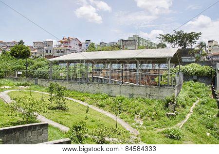School In Poor Area In Sao Paulo