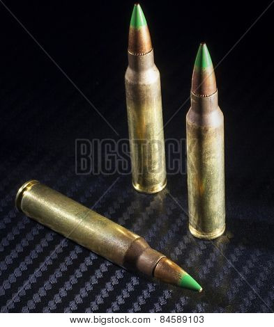 Green tipped ammo