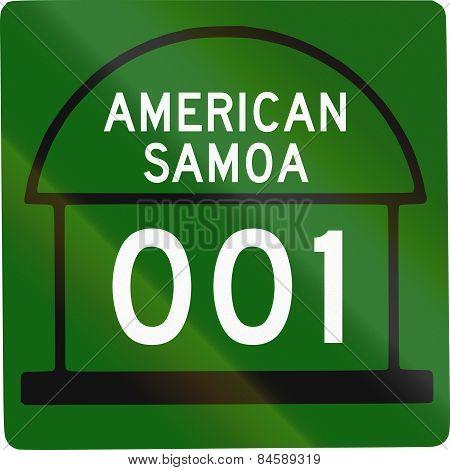 American Samoa Territorial Highway
