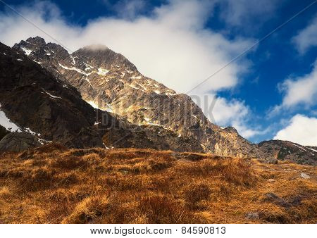 Beautiful Tatra Mountains Landscape