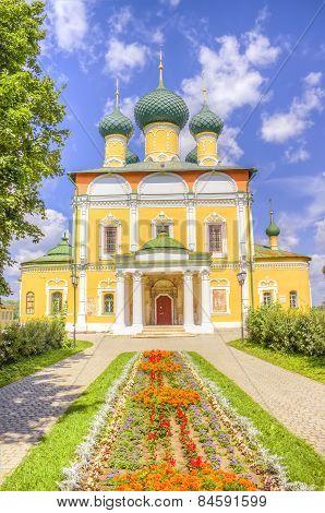 Russia Spaso-preobrazhensky Cathedral Uglich
