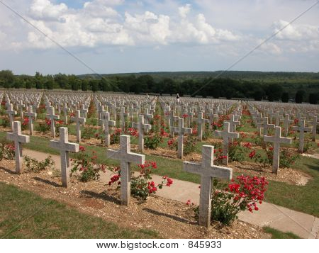 A sea of Graves in Verdun