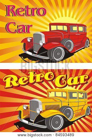 Retro Car [