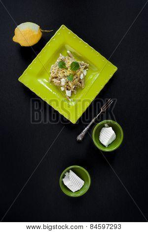 Pasta Ricotta Lemon Zest