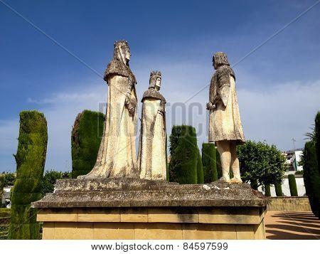 Alcazar De Los Reyes Cristianos In Cordoba