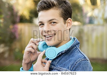 Smiling Teenage Boy