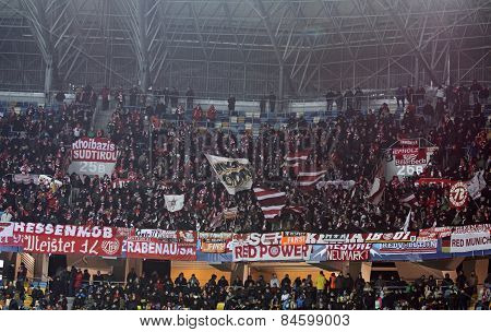 Fc Bayern Munich Team Supporters
