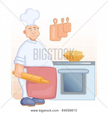 Big Cook With Rolling Pin