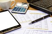 picture of accounting  - Close up - JPG