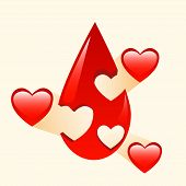 stock photo of organ  - Donation of blood and organs medicine sign symbol pictogram health - JPG