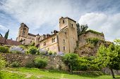 stock photo of naturel  - Typical architecture in Saint Circ Lapopie in France - JPG
