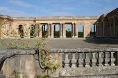 foto of versaille  - Le Grand Trianon in the park of Versailles Palace - JPG