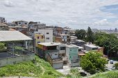 picture of illegal  - Poverty in the favela of Sao Paulo city - JPG