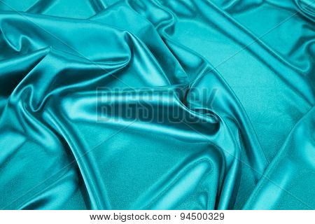 Light blue silk texture cloth.