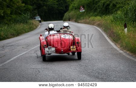 old car FIAT  508 S Mille Miglia