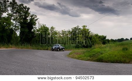 old car  LANCIA Aurelia B21 Berlina 1951 mille miglia 2015