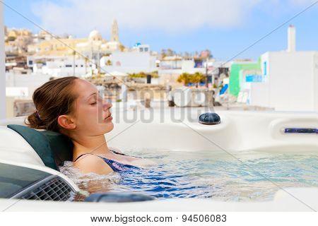 Summer Resort In Fira, Santorini