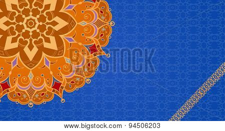 Ethnic Vintage Ornament Greeting Card