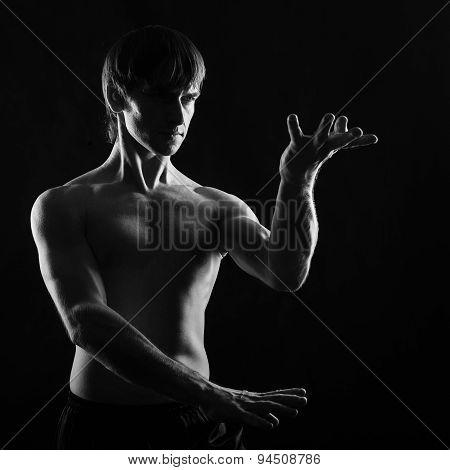 Martial Arts. Kung Fu Kata.