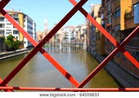 red bridge Steel structure