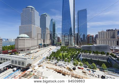 World Trade Center Area, New York, Editorial