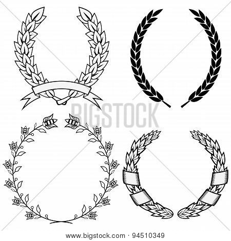 vector wreath
