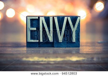 Envy Concept Metal Letterpress Type