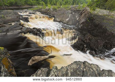 St. Louis River Waterfall