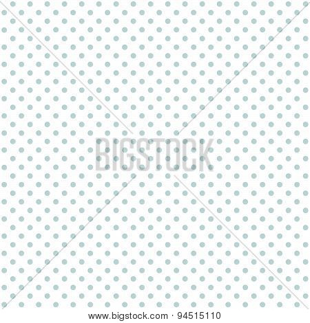 Seamless Background Blue Dots