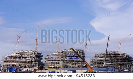 Industry Crane And Building Construction