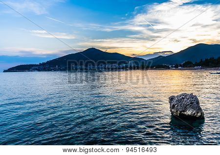 Sunset View On Budva