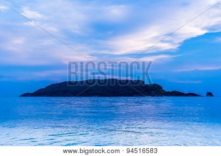 Sunset View On Sveti Nikola Island